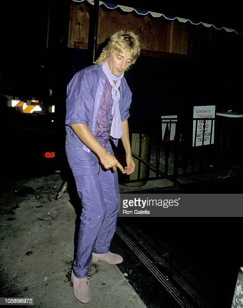 Rod Stewart during Jacqueline Bissett's Birthday Party September 13 1979 at Flippers Roller Disco in Sherman Oaks California United States