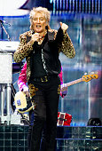 Rod Stewart Perform At M&S Arena, Liverpool