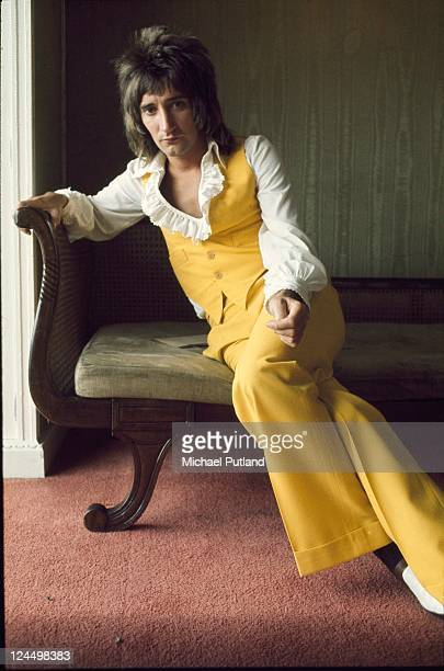 Rod Stewart portrait London 1974