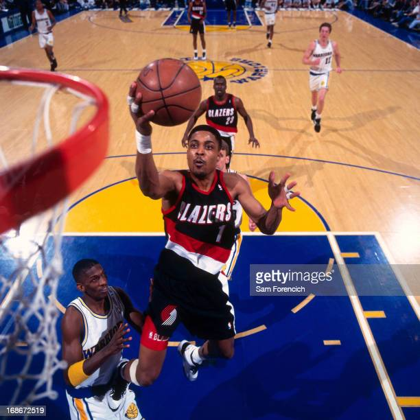 Portland Trail Blazers Vs Warriors: Rod Strickland Stock Photos And Pictures