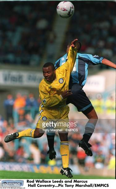 Rod Wallace Leeds and Marcus Hall Coventry