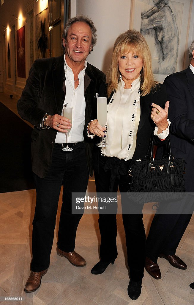 Rod Weston (L) and <a gi-track='captionPersonalityLinkClicked' href=/galleries/search?phrase=Pattie+Boyd&family=editorial&specificpeople=224054 ng-click='$event.stopPropagation()'>Pattie Boyd</a> attend the launch of Louise Fennell's new book 'Fame Game' at Grace Belgravia on March 12, 2013 in London, England.