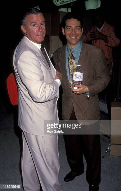 Roddy McDowall and Michael Feinstein during 11th Annual Video Software Dealers Assoctiona Convention at Convention Center in Las Vegas Nevada United...