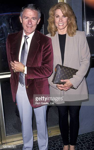 Roddy McDowall and Stefanie Powers during 'MarVin's Rooms' Opening Night September 22 1994 at Tiffany Theater in West Hollywood California United...