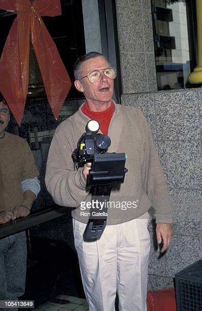 Roddy McDowall during 1970th Star On Hollywood Boulevard at Walk of Fame in Hollywood California United States