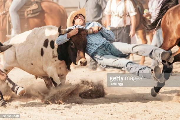 Cow-Boy de rodéo dans l'Utah