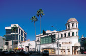 Rodeo Drive in Beverly Hills , California , USA