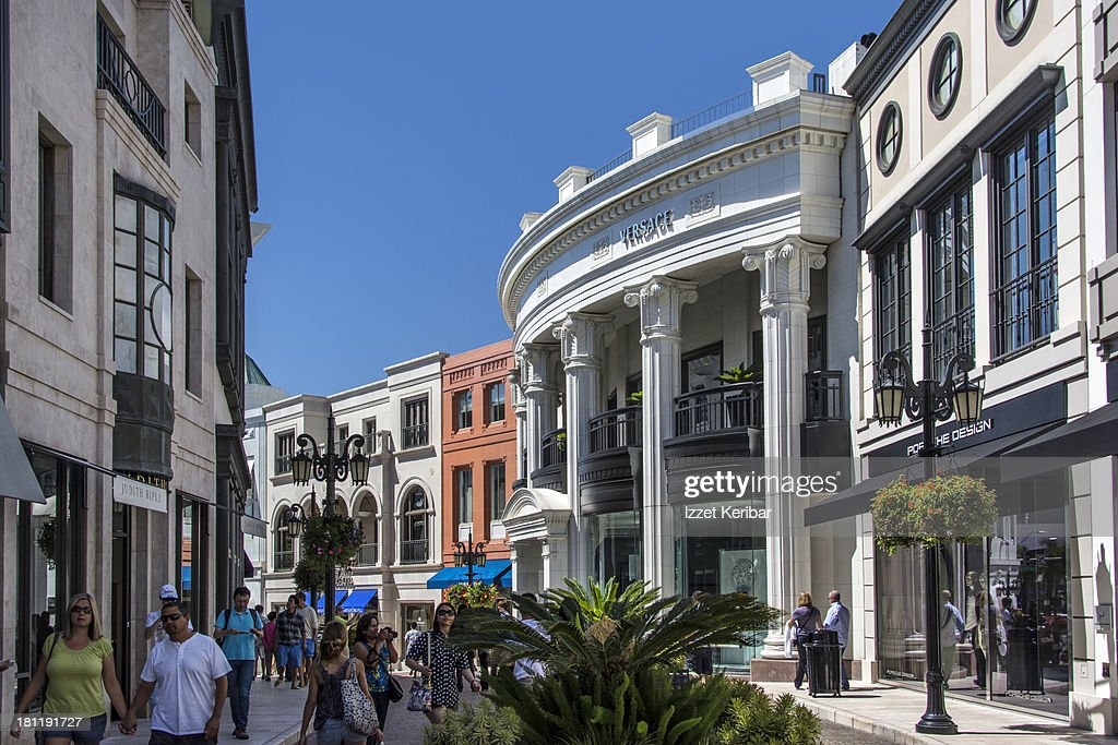 Rodeo Drive, Shops, Los Angeles, California