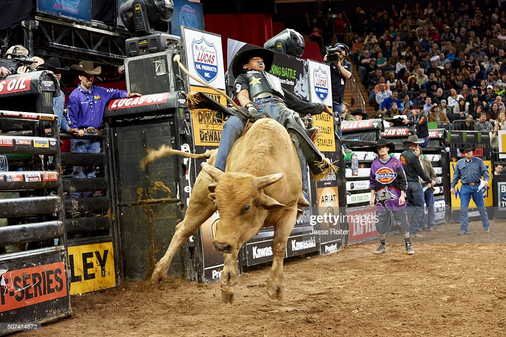 View Of Miscellaneous Bull Riding Action During Event At Madison Pictures Getty Images