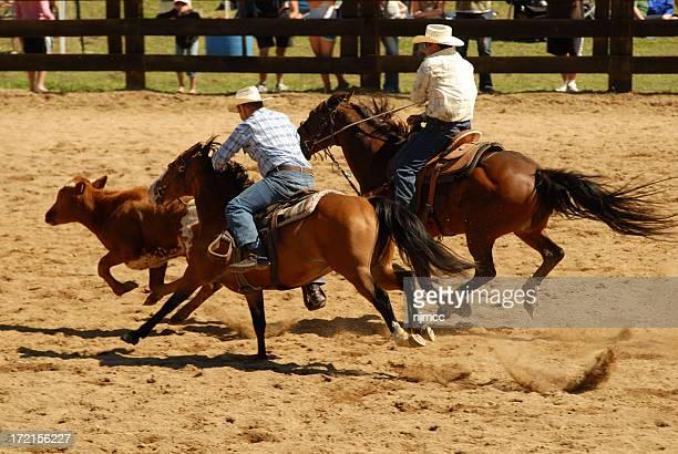 coureurs de Rodeo
