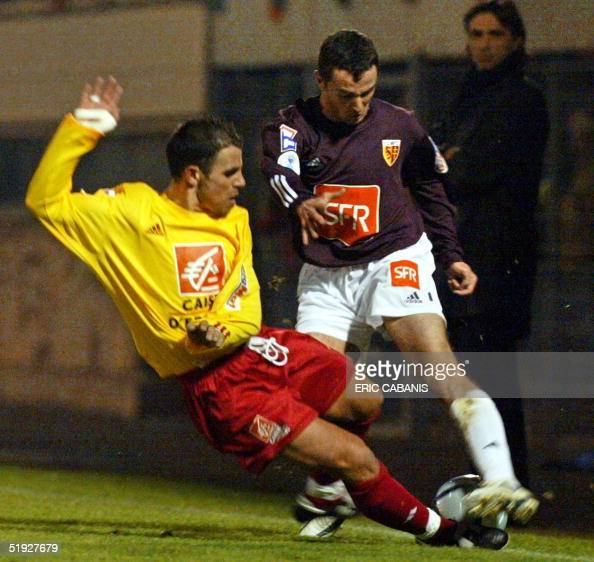 rodez 39 s player patrick videira l and m pictures getty images. Black Bedroom Furniture Sets. Home Design Ideas
