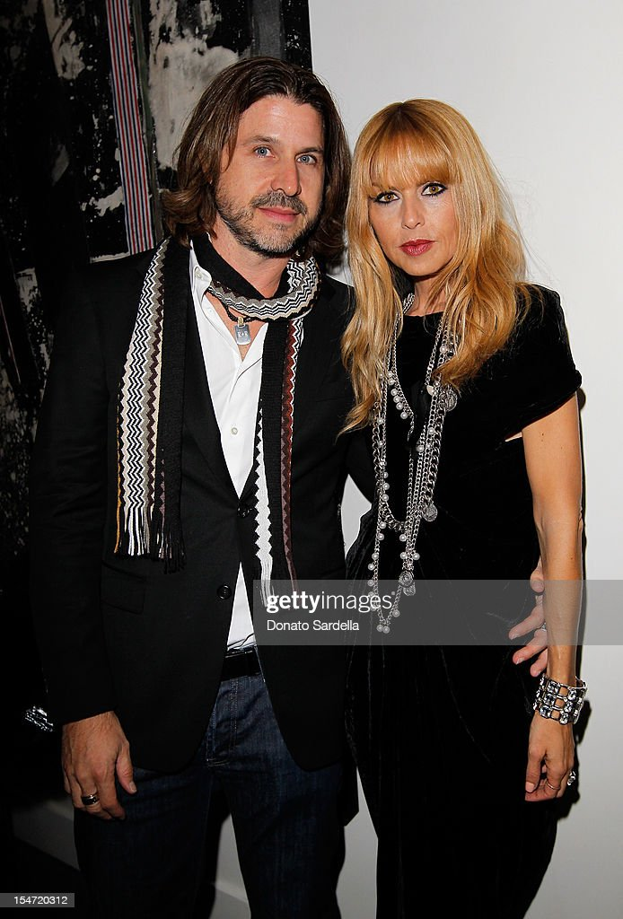 Rodger Berman and <a gi-track='captionPersonalityLinkClicked' href=/galleries/search?phrase=Rachel+Zoe+-+Stylist&family=editorial&specificpeople=546501 ng-click='$event.stopPropagation()'>Rachel Zoe</a> attend W's Stefano Tonchi and Catherine Keener celebrate W's 40th Anniversary and the Book Release of 'W: The First 40 Years' at Spago on October 24, 2012 in Beverly Hills, California.