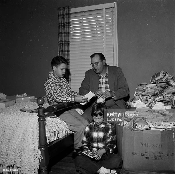 Rodie Parks Terminally Ill She Struggled To Hold Until Christmas Etats Unis Caroline du Nord Asheville en janvier 1957 les enfants de Rodie PARKS...