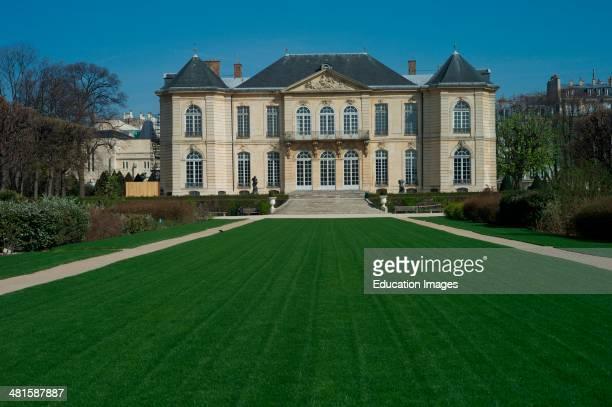 Rodin gardens Rodin Museum Paris France