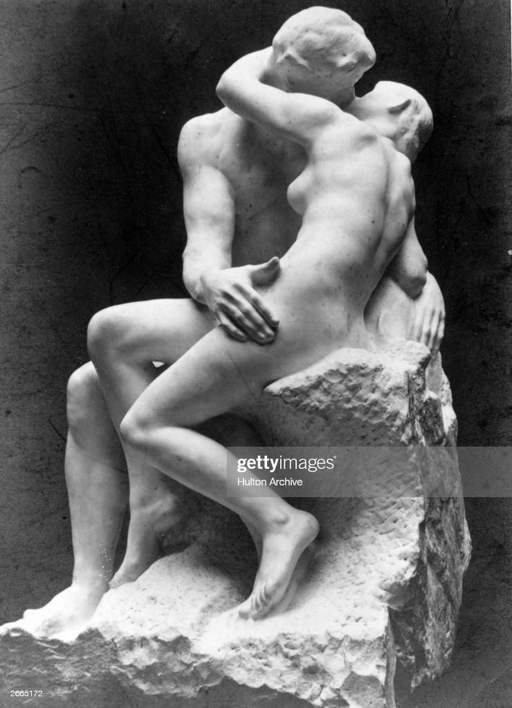 Rodin's 'The Kiss' from the Musee de Luxembourg