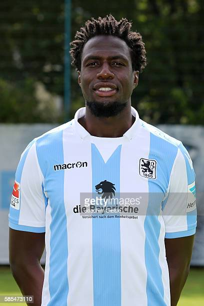 Rodnei poses during the official team presentation of TSV 1860 Muenchen at Trainingsgelaende on July 22 2016 in Munich Germany
