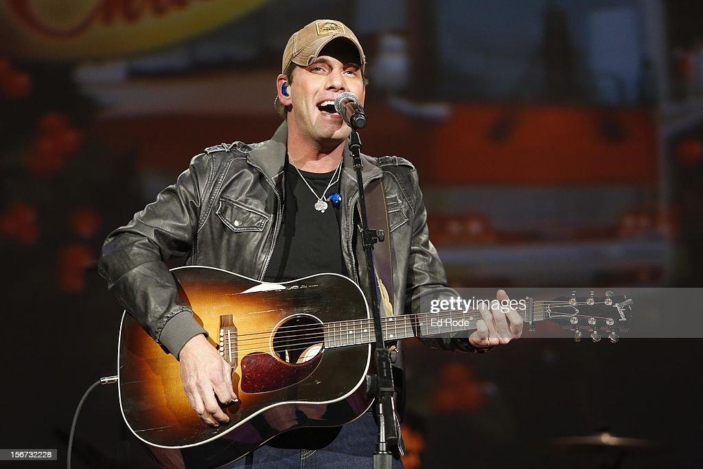 Rodney Atkins performs at Ryman Auditorium on November 19, 2012 in Nashville, Tennessee.