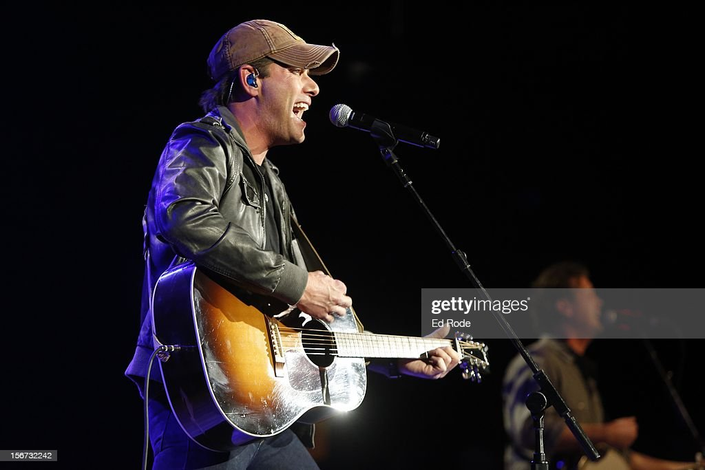 Rodney Atkins performs at Ryman Auditorium on November 19, 2012 in Nashville, Tennessee.
