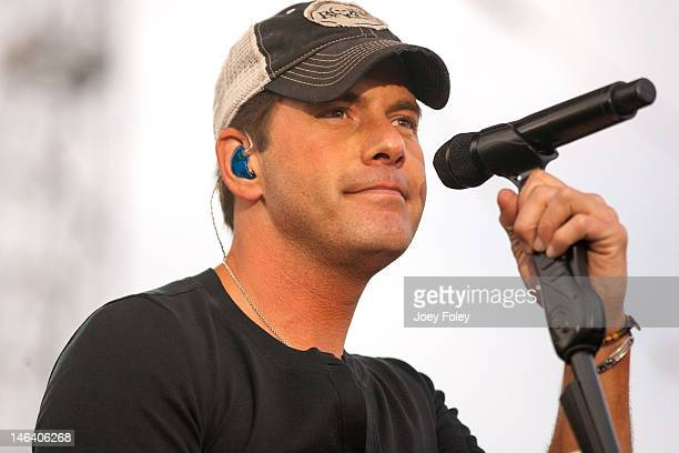 Rodney Atkins performs live during the 2012 Country Throwdown Tour at Hoosier Park Racing Casino on June 3 2012 in Anderson Indiana
