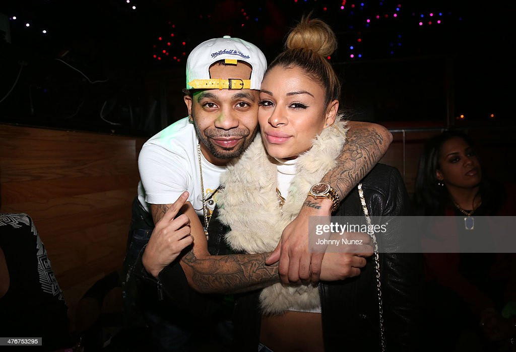 Rodney 'Bucks' Charlemagne and promoter Simply Jess attend the 'Mastermind' Album Release Party at Greenhouse on March 4, 2014 in New York City.