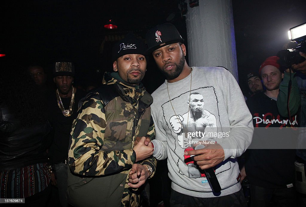 Rodney 'Bucks' Charlemagne and Reese attend Santos Party House on December 4, 2012 in New York City.
