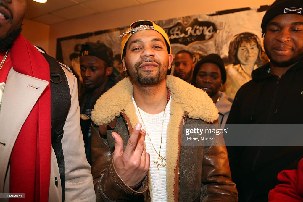Rodney 'Bucks' <a gi-track='captionPersonalityLinkClicked' href=/galleries/search?phrase=Charlemagne&family=editorial&specificpeople=79057 ng-click='$event.stopPropagation()'>Charlemagne</a> attends The Diplomats Pledge Of Allegiance concert at B.B. King Blues Club & Grill on February 24, 2015, in New York City.