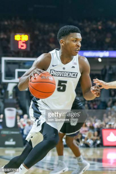 Rodney Bullock Forward for Providence College drives to the basket during the game between the Providence College Friars and the Butler Bulldogs on...