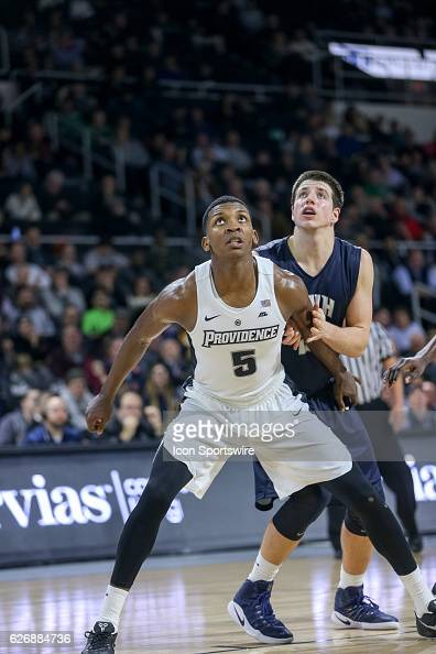 Rodney Bullock Forward for Providence College during the game between the Providence College Friars and the University of New Hampshire Wildcats on...