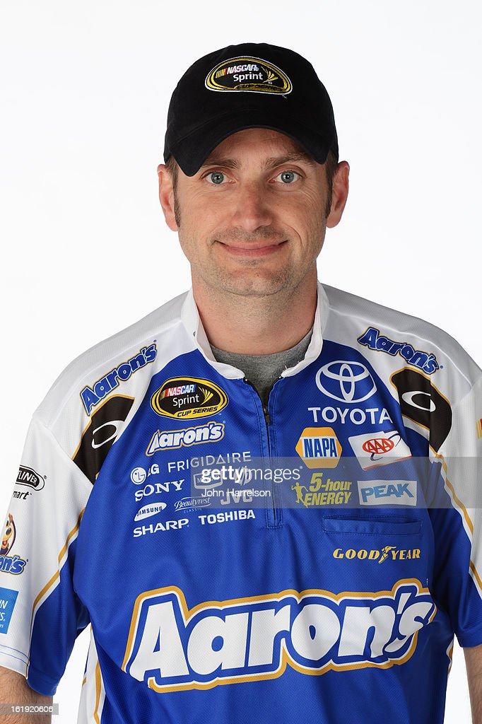 Rodney Childers, crew chief of the #55 Aaron's Dream Machine Toyota, poses during portraits for the 2013 NASCAR Sprint Cup Series at Daytona International Speedway on February 17, 2013 in Daytona Beach, Florida.