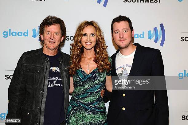 Rodney Crowell and Chely Wright arrive at the 21st Annual GLAAD Media Awards at San Francisco Marriott Marquis on June 5 2010 in San Francisco...