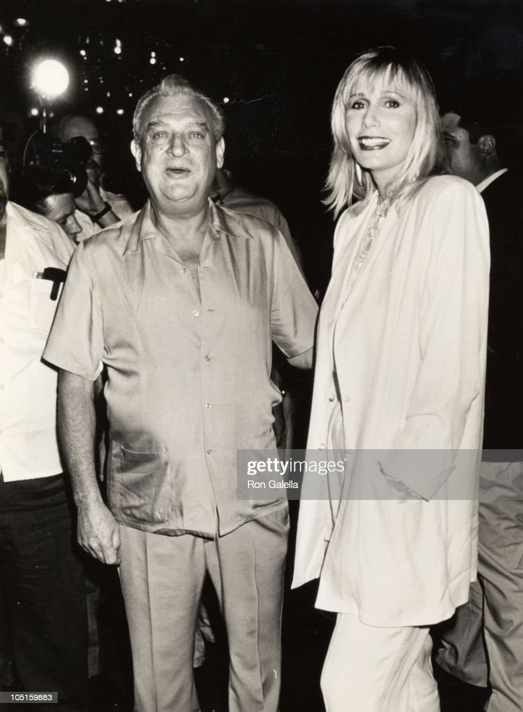 Rodney Dangerfield Sally Kellerman during Premiere of 'Back To School' at Ziegfeld Theater in New York City NY United States