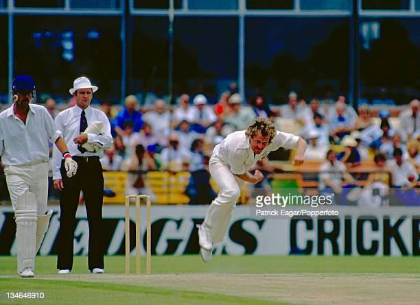 Rodney Hogg bowling Australia v England 2nd Test Perth Dec 197879
