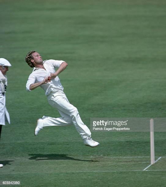 Rodney Hogg bowling for Australia during the 1981 tour of England circa June 1981