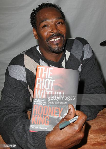 Rodney King attends the 17th annual Los Angeles Times Festival of Books Day 1 at USC on April 21 2012 in Los Angeles California