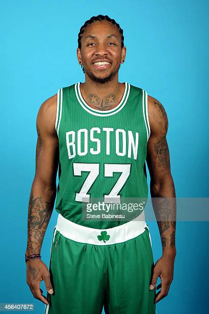 Rodney McGruder of the Boston Celtics poses for a portrait on September 29 2014 at the the Boston Cetlics Training Center at Healthpoint in Waltham...