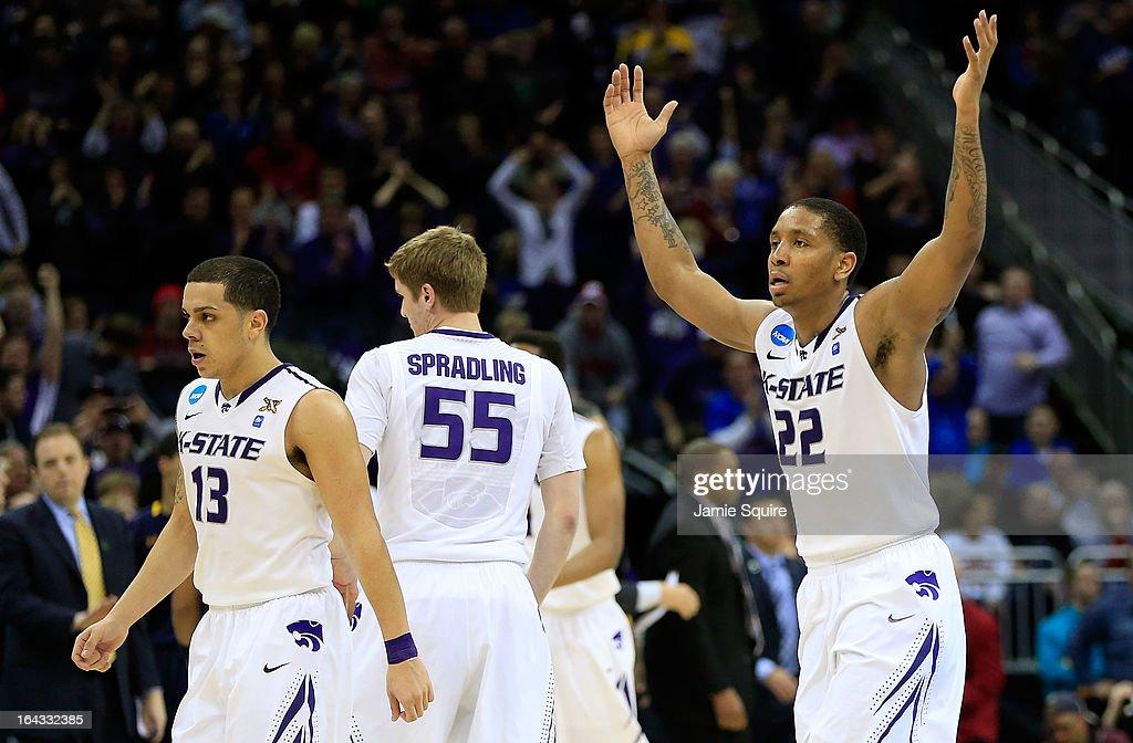NCAA Basketball Tournament - Second Round - Kansas City