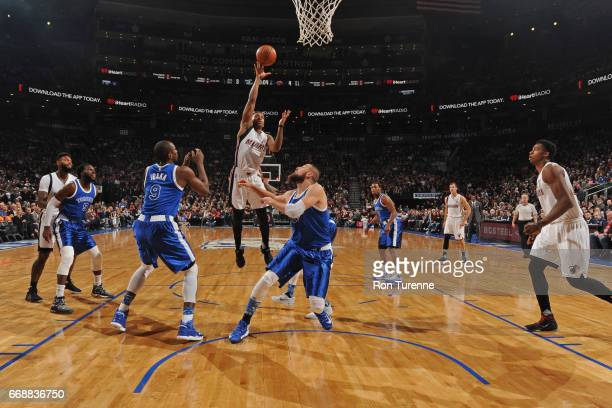 Rodney McGruder of the Miami Heat shoots the ball against the Toronto Raptors on April 7 2017 at the Air Canada Centre in Toronto Ontario Canada NOTE...