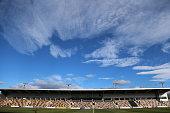 Rodney Parade the home stadium of Newport County