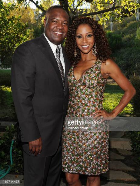 Rodney Peete and Holly Robinson Peete host the 13th Annual Design Care Benefiting The HollyRod Foundation on July 23 2011 in Beverly Hills California