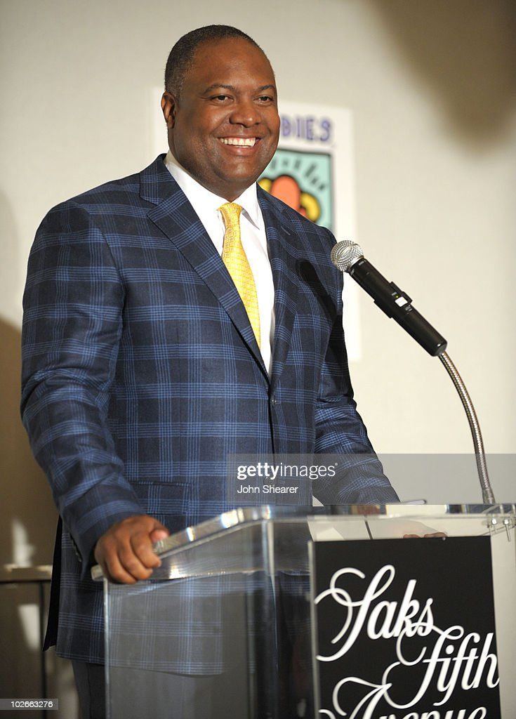 Rodney Peete attends the 'Saks Fifth Avenue And Best Buddies California Father's Day Honors' event at Saks Fifth Avenue Beverly Hills on June 15, 2010 in Beverly Hills, California.
