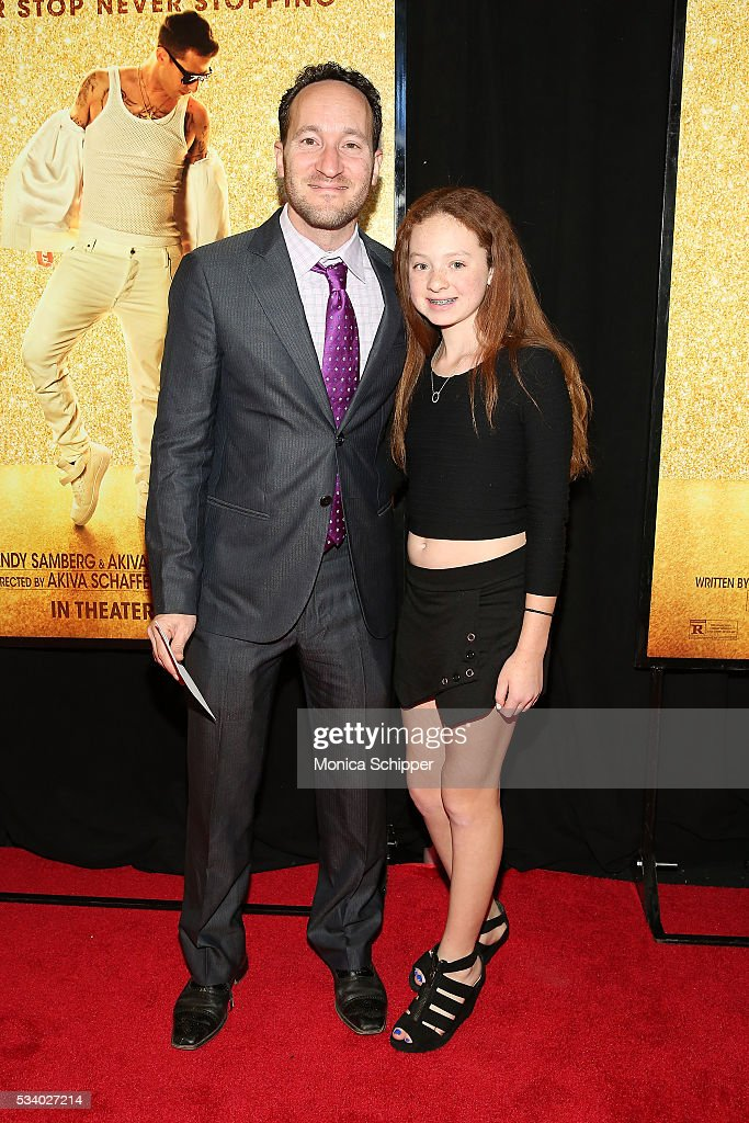 Rodney Rothman (L) and Alexa Potack attend 'Popstar: Never Stop Never Stopping' New York Premiere at AMC Loews Lincoln Square 13 theater on May 24, 2016 in New York City.