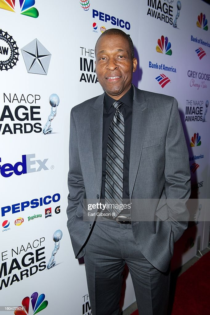Rodney Saulsberry attends the 44th NAACP Image Awards Pre-Gala at Vibiana on January 31, 2013 in Los Angeles, California.