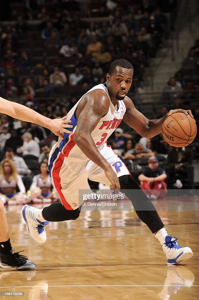 <a gi-track='captionPersonalityLinkClicked' href=/galleries/search?phrase=Rodney+Stuckey&family=editorial&specificpeople=4375687 ng-click='$event.stopPropagation()'>Rodney Stuckey</a> #3 of the Detroit Pistons drives to the basket against the Indiana Pacers during the game on December 15, 2012 at The Palace of Auburn Hills in Auburn Hills, Michigan.