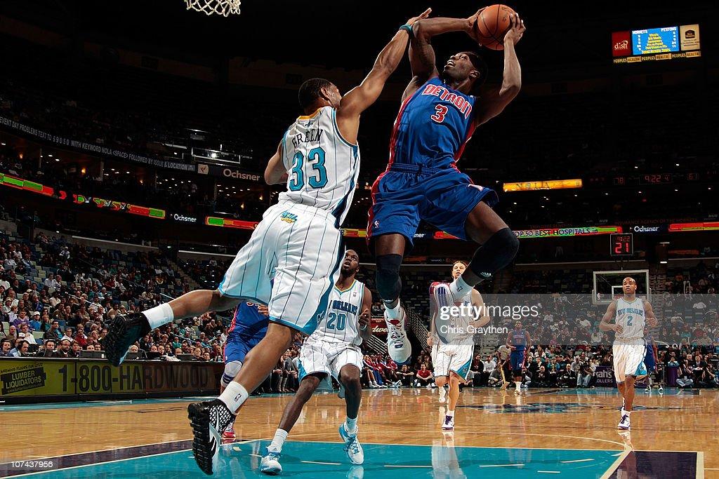 Detroit Pistons v New Orleans Hornets