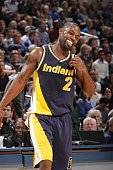 Rodney Stuckey of the Indiana Pacers during the game against the Orlando Magic on March 10 2015 at Bankers Life Fieldhouse in Indianapolis Indiana...