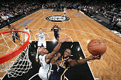 Rodney Stuckey of the Indiana Pacers shoots the ball against the Brooklyn Nets during the game on December 27 2014 at Barclays Center in Brooklyn New...