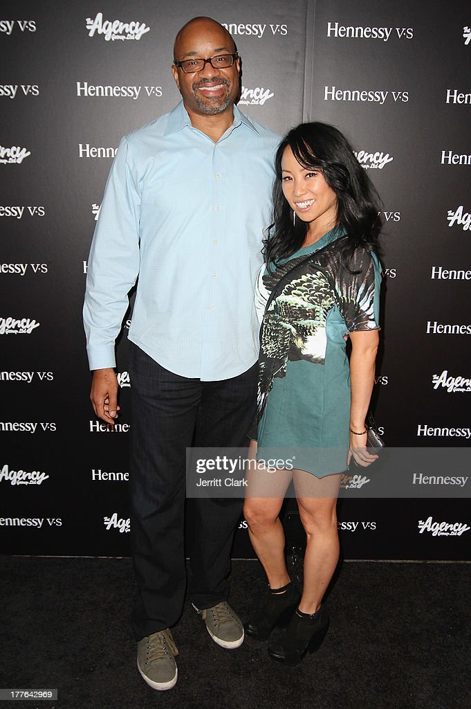 Rodney Williams SVP, Hennessy and Miss Info attend the Hennessy VS VMA Celebration at Avenue on August 24, 2013 in New York City.