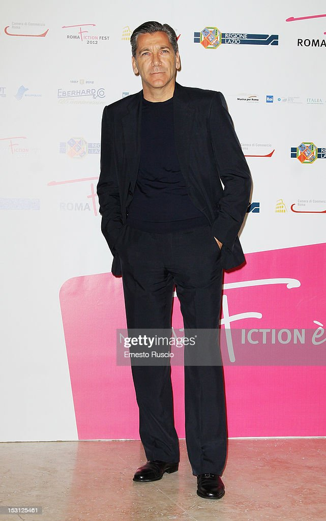 Rodolfo Corsato attends the ' RomaFictionFest 2012 - Opening Ceremony' at Auditorium Parco Della Musica on September 30, 2012 in Rome, Italy.