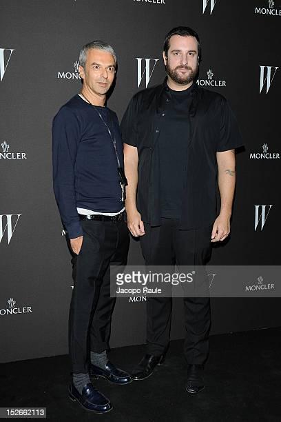 Rodolfo Paglialunga and Costantino Della Gherardesca attend W Magazine Dance Party during Milan Fashion Week Womenswear S/S 2013 on September 23 2012...