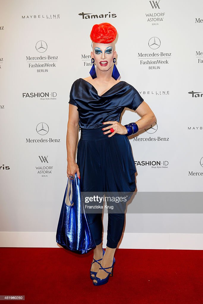 Rodolfo Prevelato attends the Laurel show during the Mercedes-Benz Fashion Week Spring/Summer 2015 at Erika Hess Eisstadion on July 10, 2014 in Berlin, Germany.